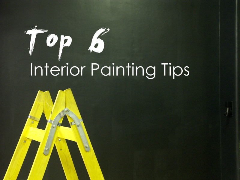6 Essential Interior Painting Tips